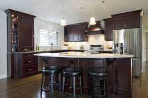Traditional kitchen cabinets in Victoria BC